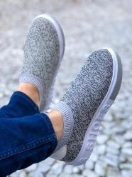 Tênis meia solado em relevo shoes