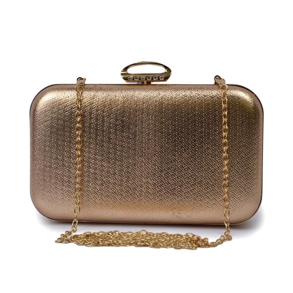 Bolsa Clutch com Strass  REF:M-671