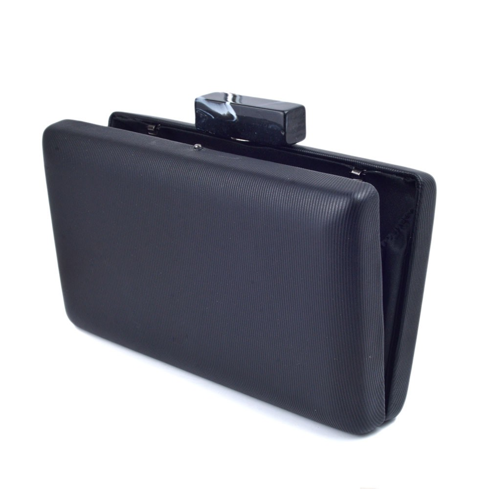 Bolsa Clutch Textura Tecido e Fecho Marmorizado REF:S-84