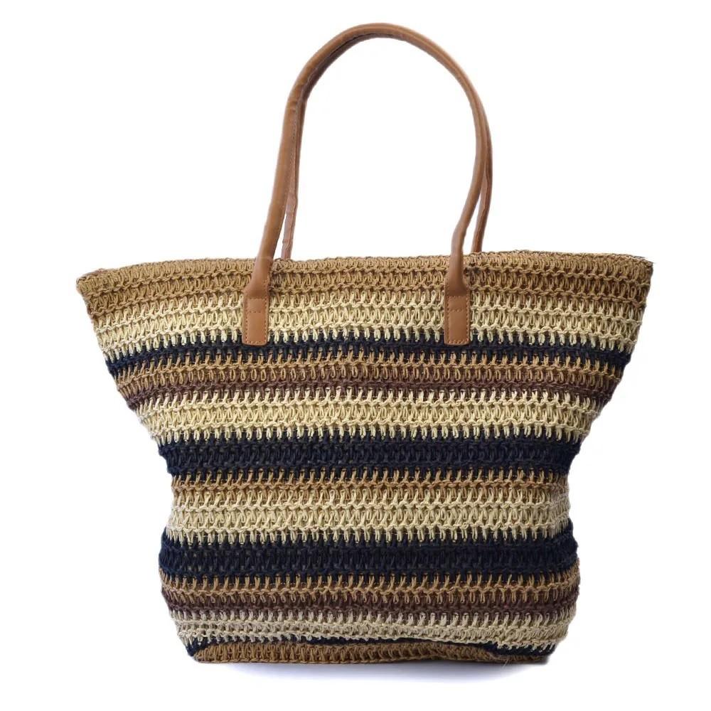 Bolsa Crochê com Espaço Interno Confeccionado em Tecido
