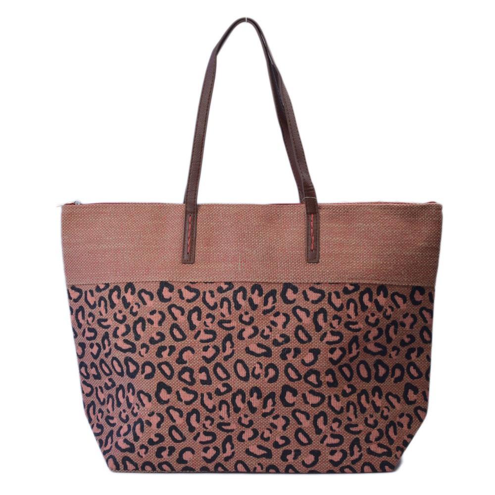 Bolsa de Praia com Estampa Animal Print REF:KCA322