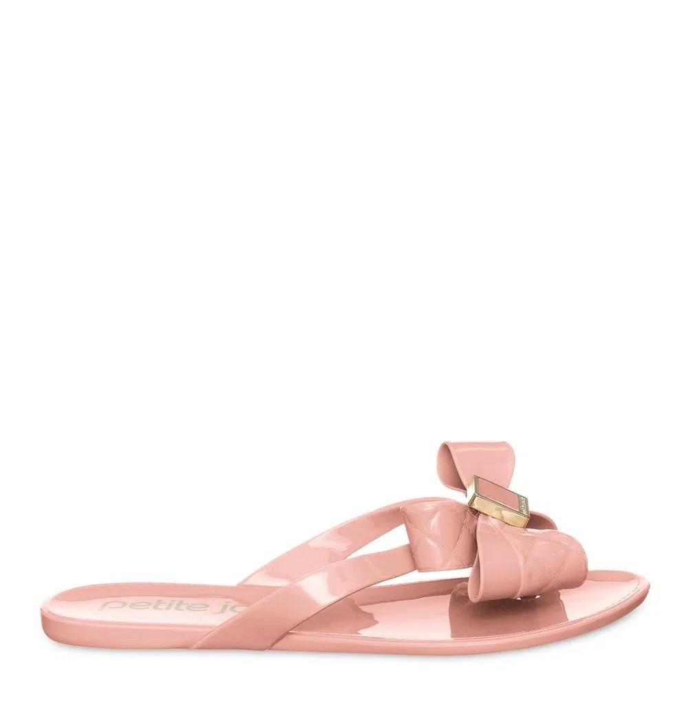 Rasteira Petite Jolie Lucky Rosa PJ6000