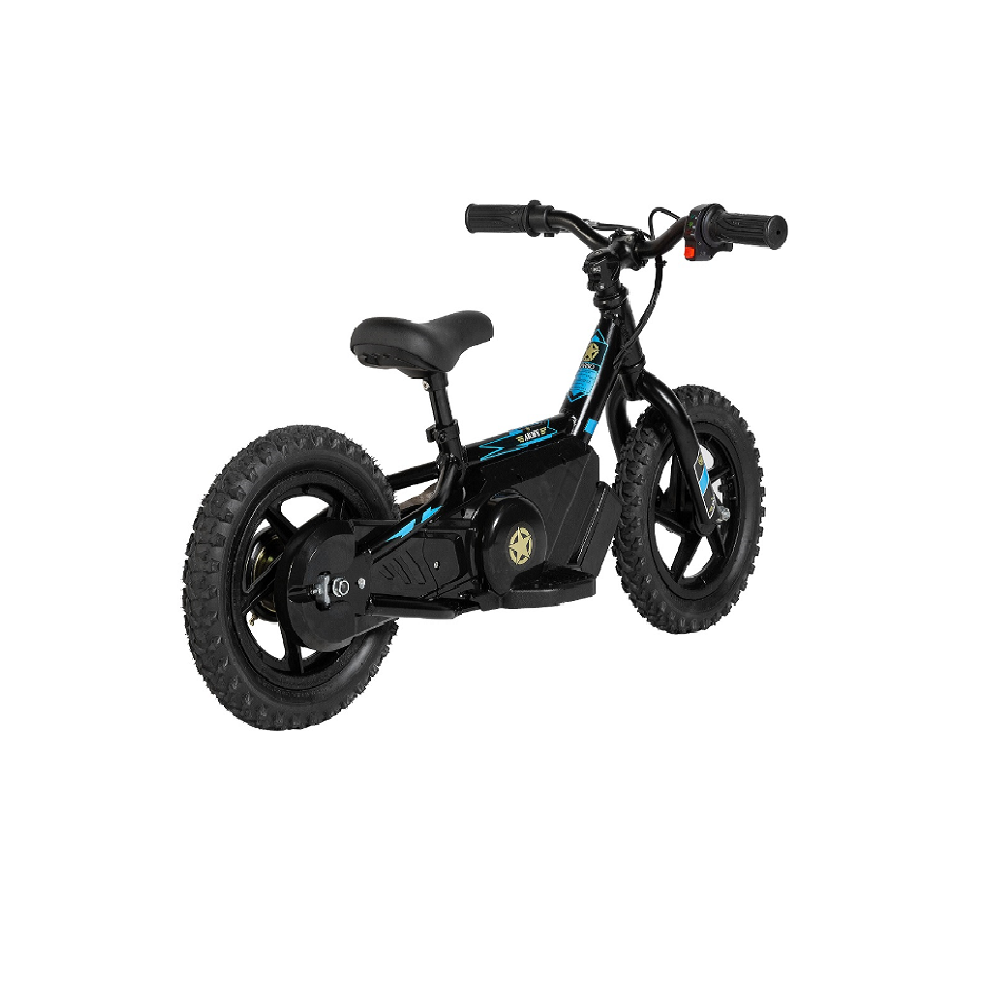 Mini Bike Elétrica Army Infantil E-Bike Aro 12 120 watts