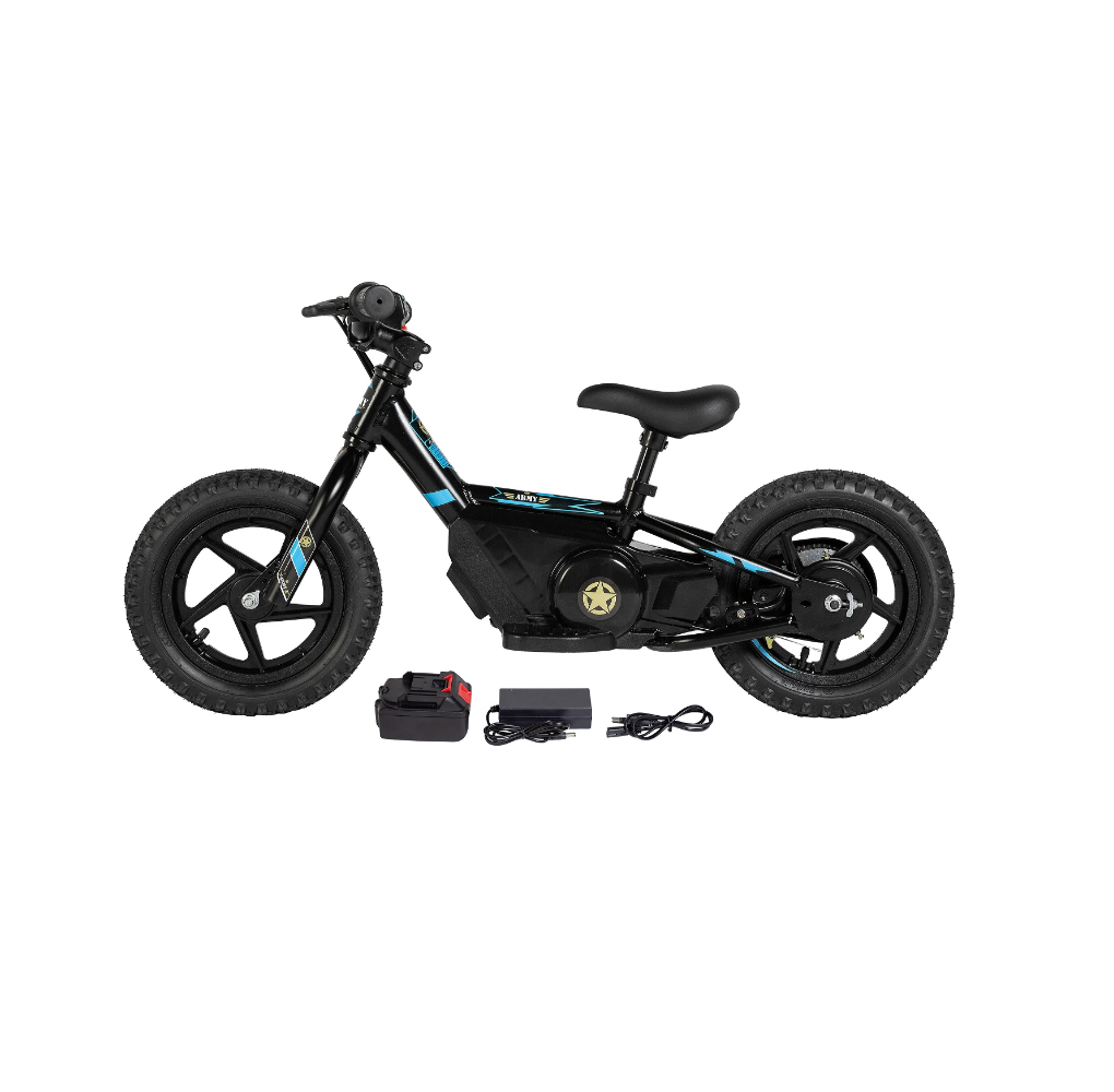 Mini Bike Elétrica Army Infantil E-Bike Aro 12 Expert 150 watts
