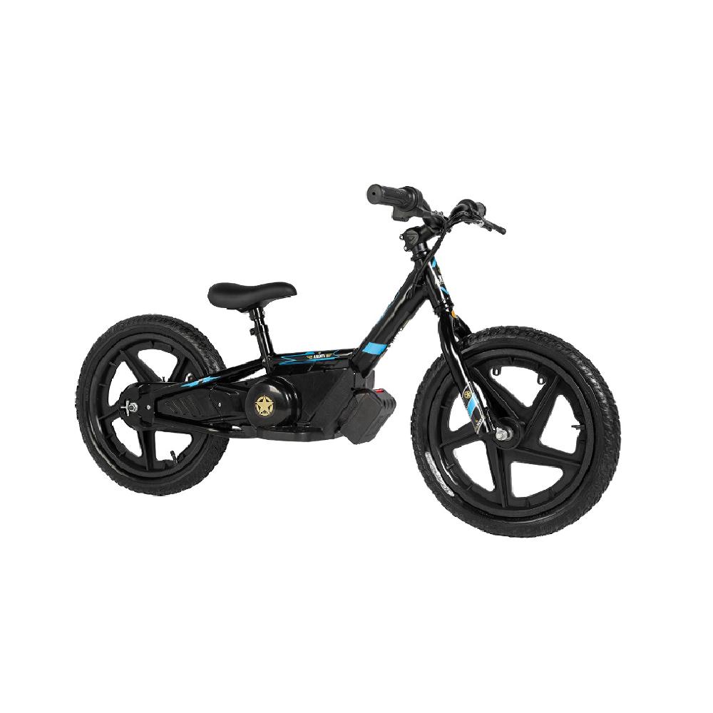 Mini Bike Elétrica Army Infantil E-Bike Aro 16 150 watts