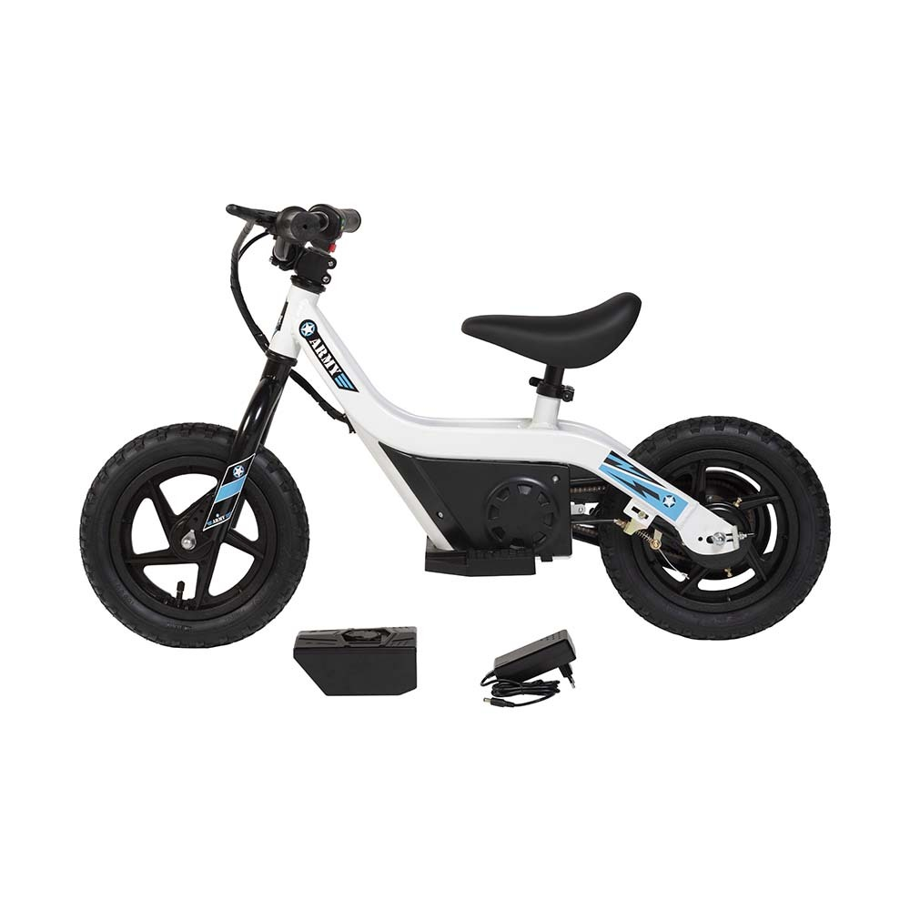 Mini Bike Elétrica Army Baby E-Bike Aro 12 100W