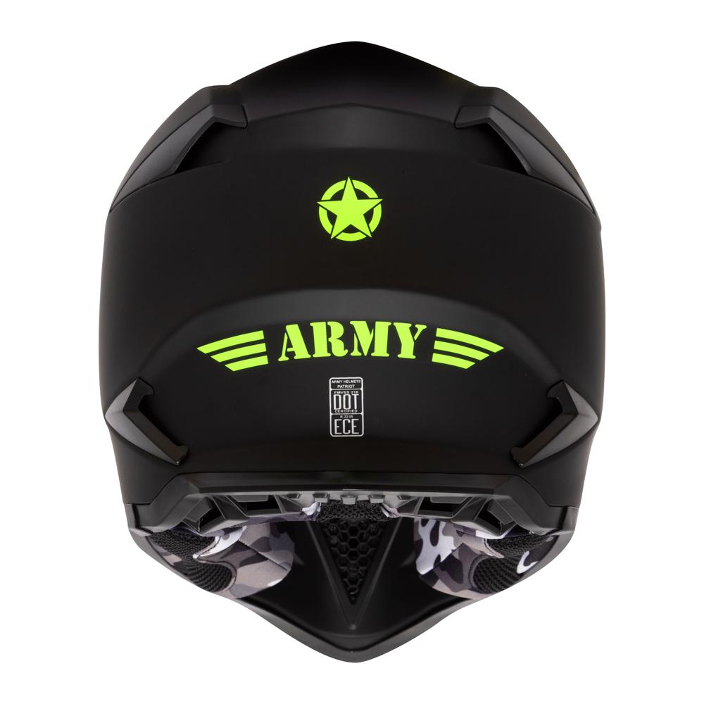 Capacete Army Patriot Preto Fosco