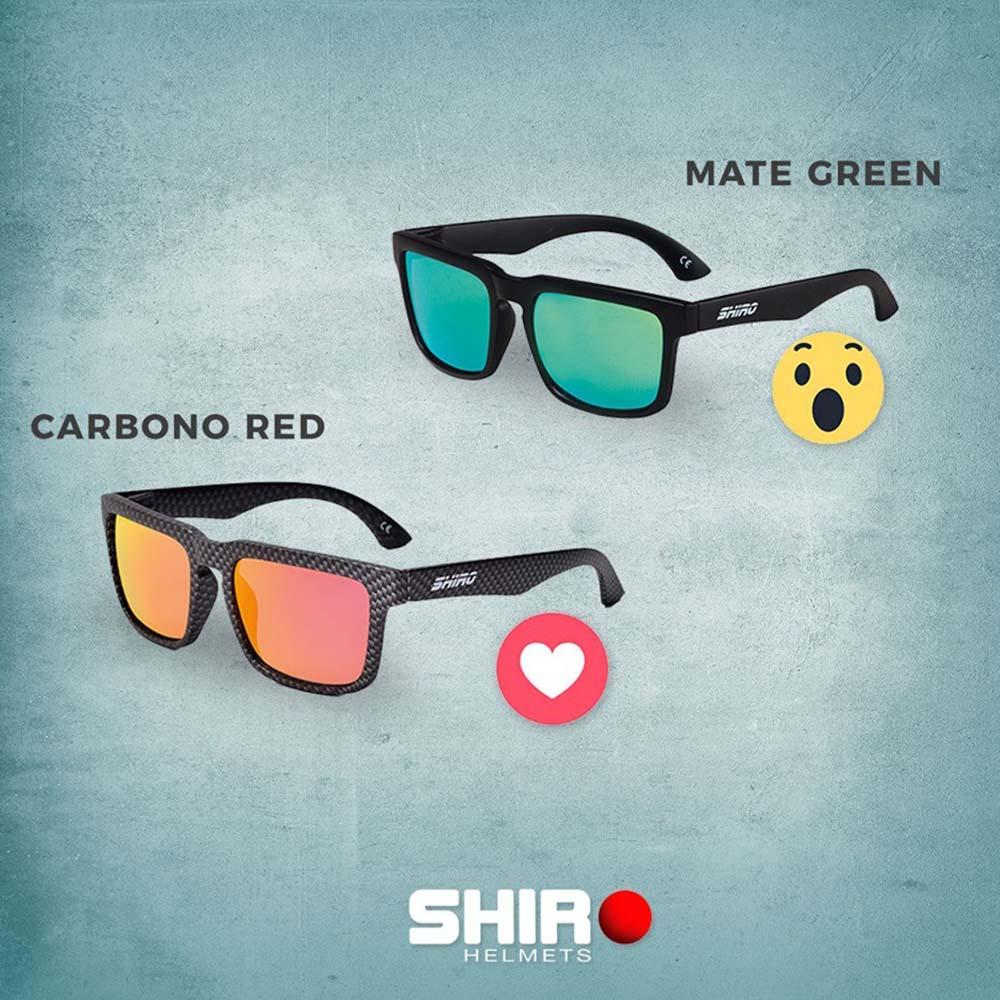 Óculos De Sol Haste Preto Brilho Lente Verde