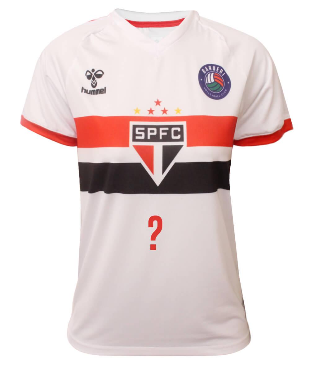 Camisa de Vôlei Barueri 2020/21 Branca - Personalizada - Feminina