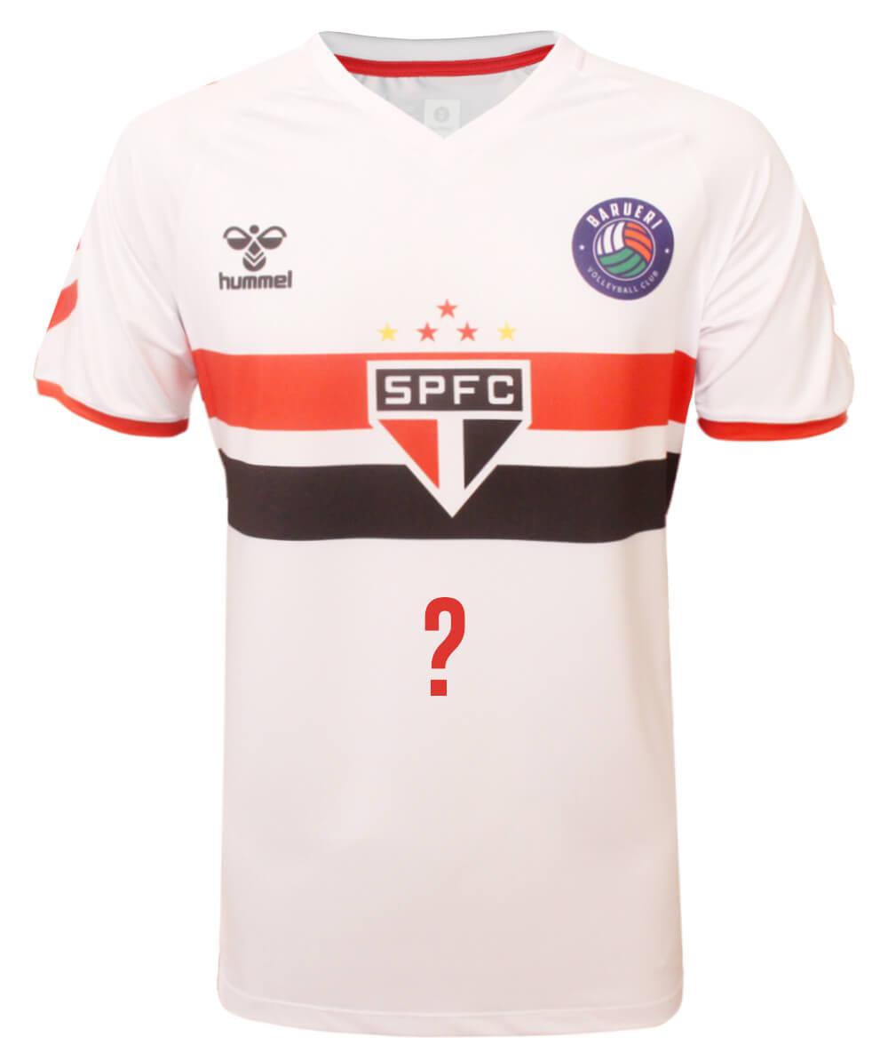 Camisa de Vôlei Barueri 2020/21 Branca - Personalizada - Masculina