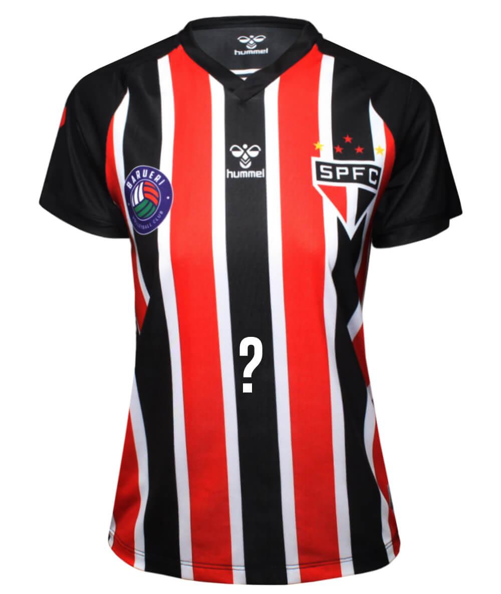 Camisa de Vôlei Barueri 2020/21 Tricolor - Personalizada - Feminina