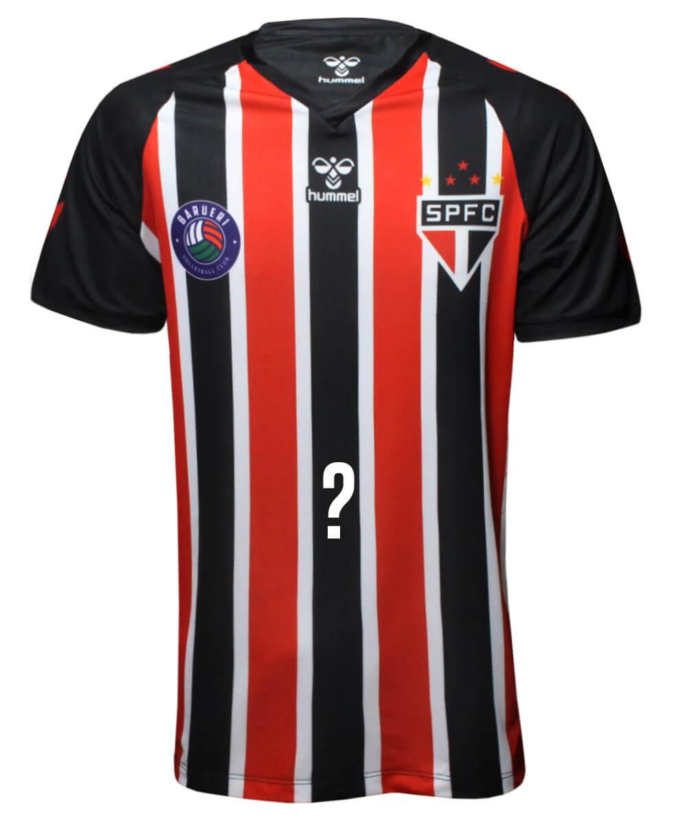 Camisa de Vôlei Barueri 2020/21 Tricolor - Personalizada - Masculina