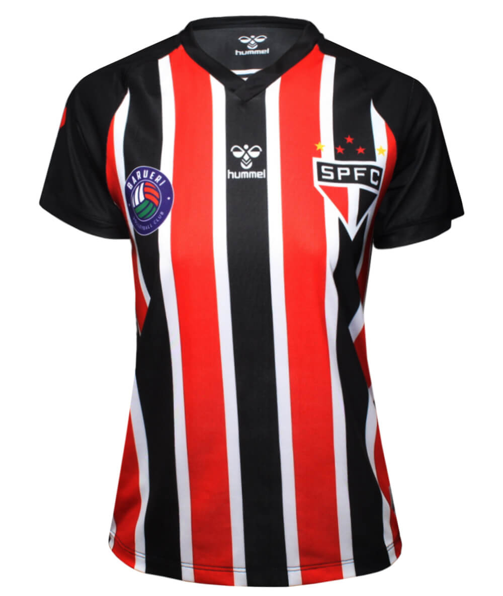 Camisa de Vôlei Barueri 2020/21 Tricolor - S/N° - Feminina