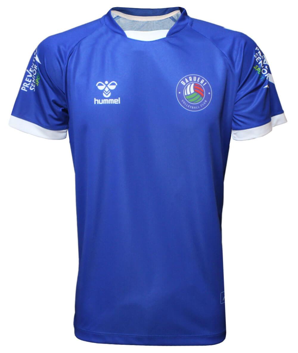 Camisa de Vôlei Barueri 2021/22 Azul - S/N° - Masculina