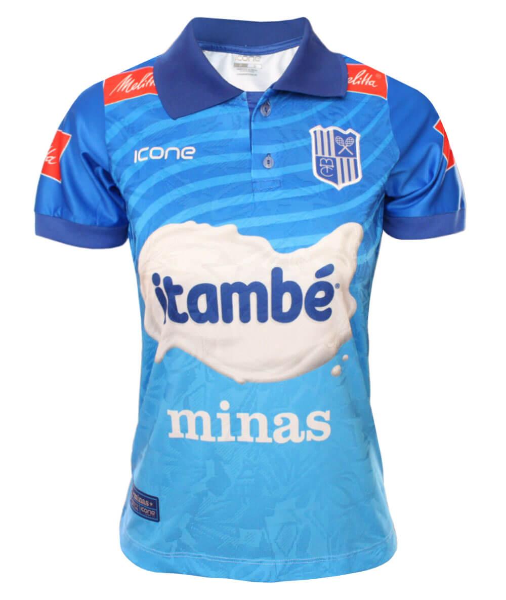 Camisa de Vôlei CT Itambé/Minas 2020/21 Azul - Feminina