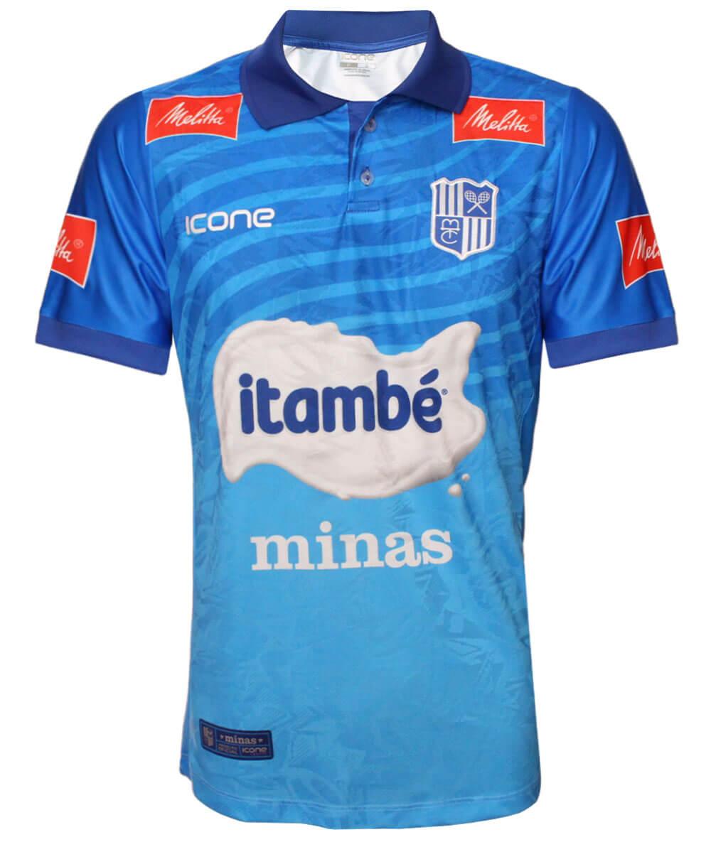 Camisa de Vôlei CT Itambé/Minas 2020/21 Azul - Masculina