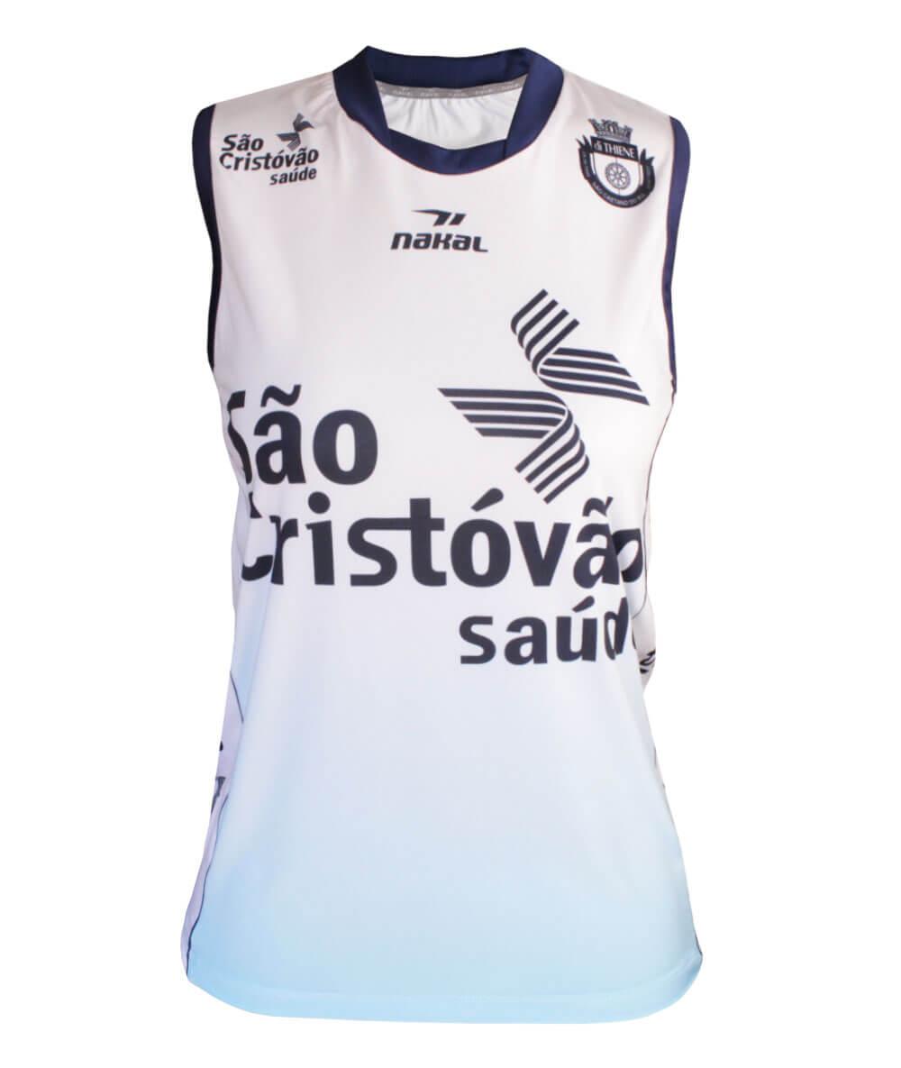 Camisa de Vôlei do São Caetano 2019/20 Branca - S/Nº - Feminina