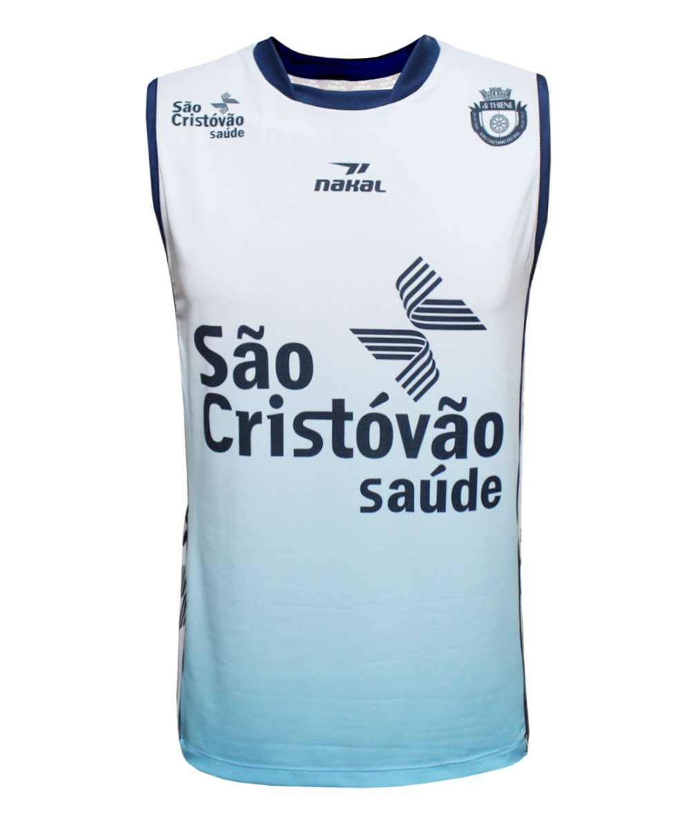 Camisa de Vôlei do São Caetano 2019/20 Branca - S/Nº - Masculina