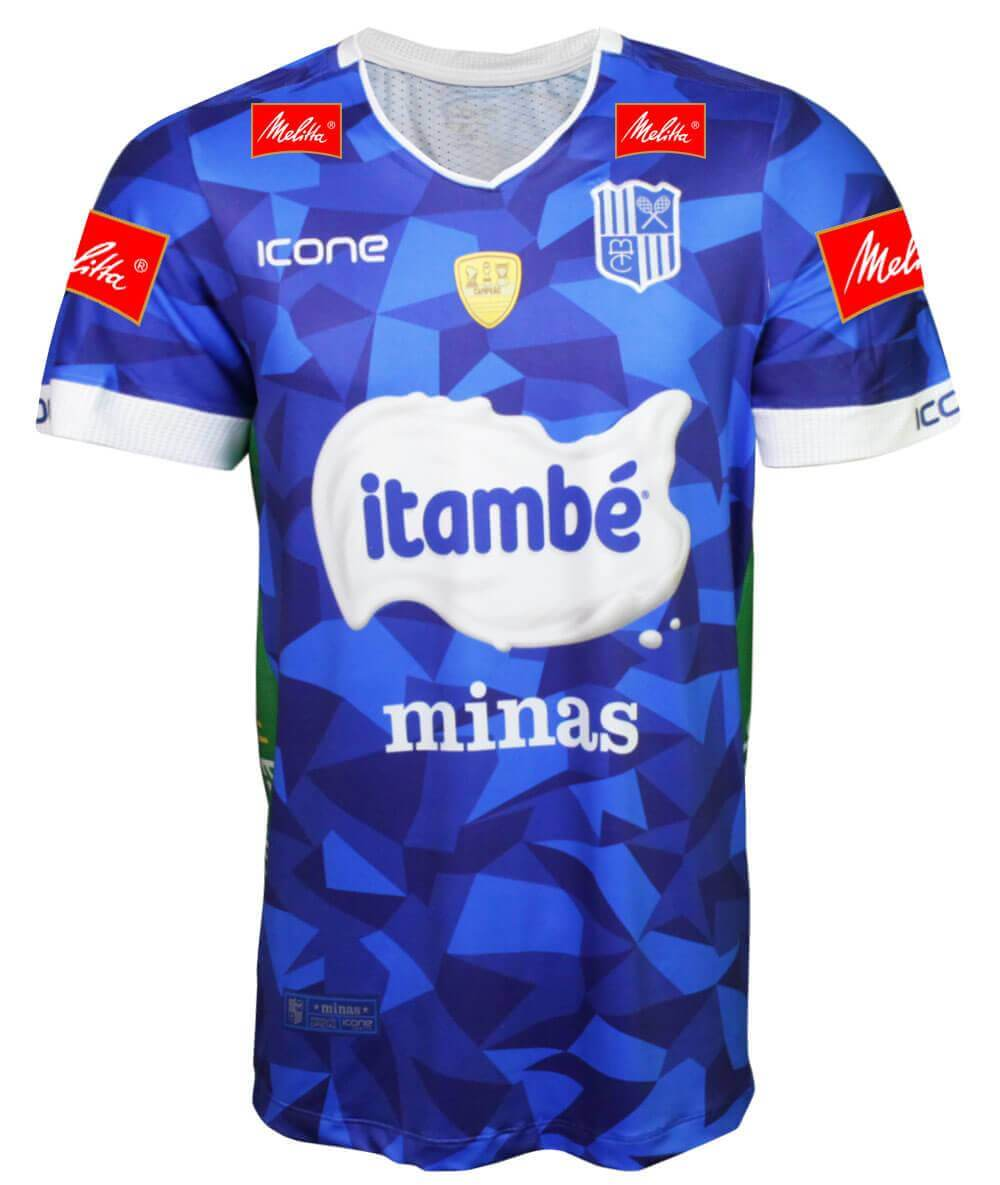 Camisa de Vôlei Itambé/Minas 2019/20 Azul - S/N° - Masculina