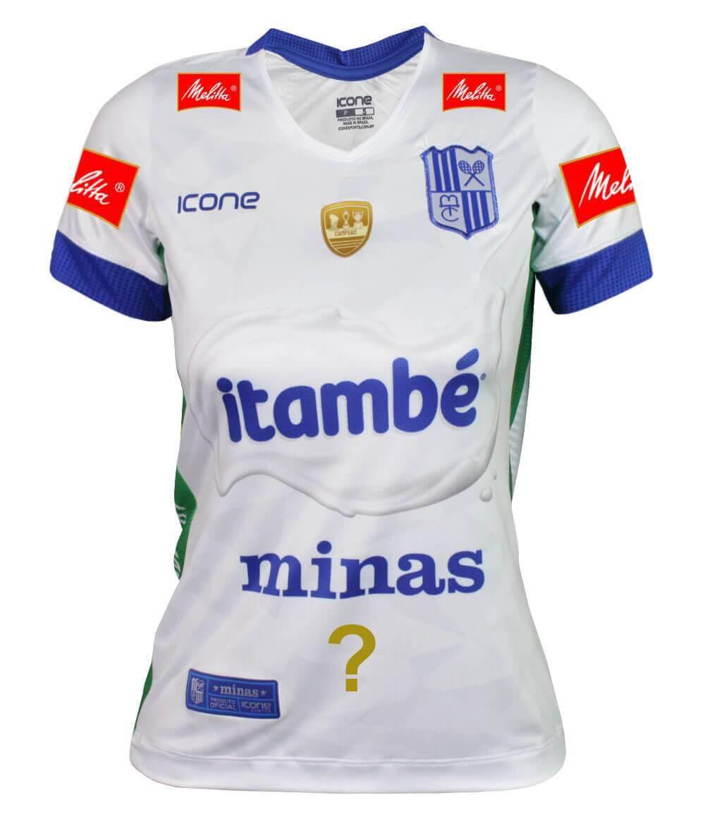 Camisa de Vôlei Itambé/Minas 2019/20 Branca - Personalizada - Feminina