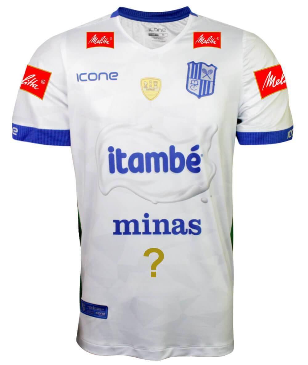 Camisa de Vôlei Itambé/Minas 2019/20 Branca - Personalizada - Masculina