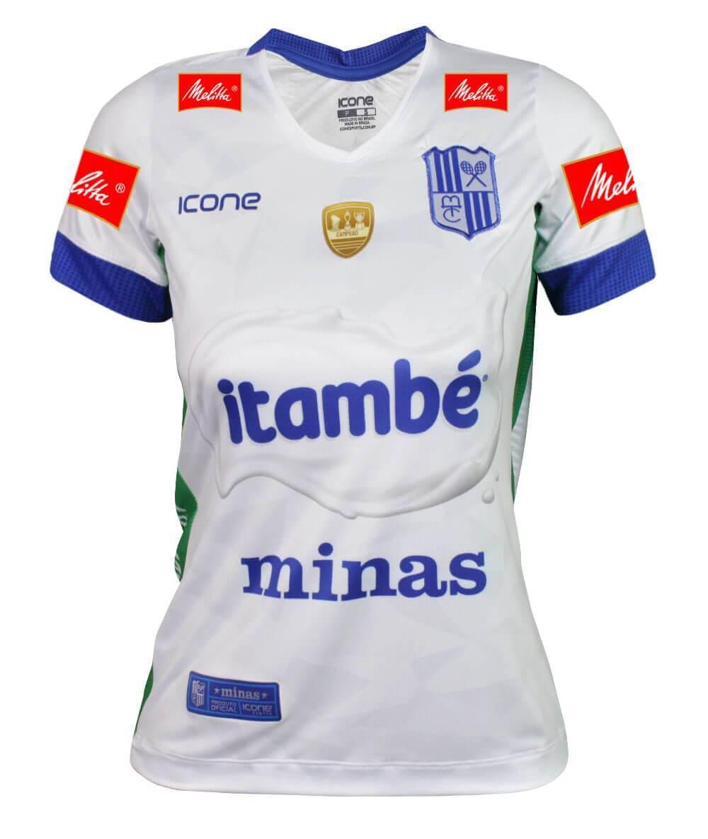 Camisa de Vôlei Itambé/Minas 2019/20 Branca - S/N° - Feminina