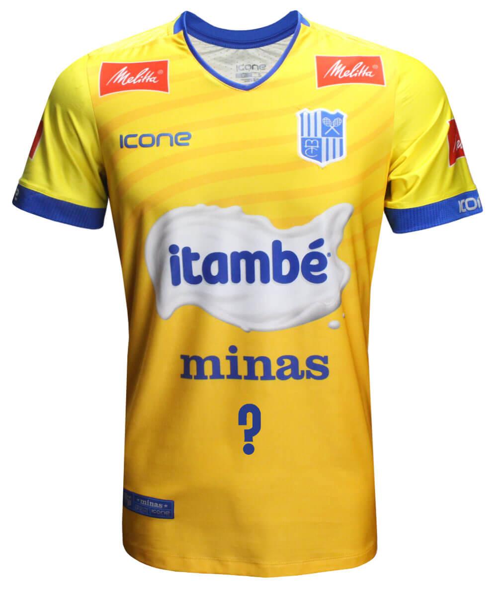 Camisa de Vôlei Itambé/Minas Brasil - Personalizada - Masculina