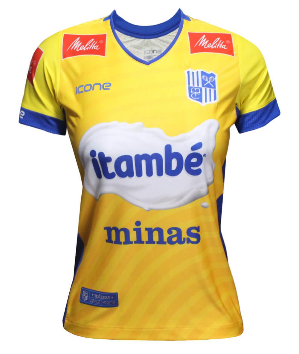Camisa de Vôlei Itambé/Minas Brasil - S/N° - Feminina