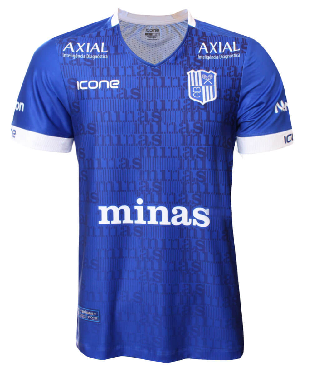 Camisa de Vôlei Minas 2020/21 Azul - S/N° - Masculina