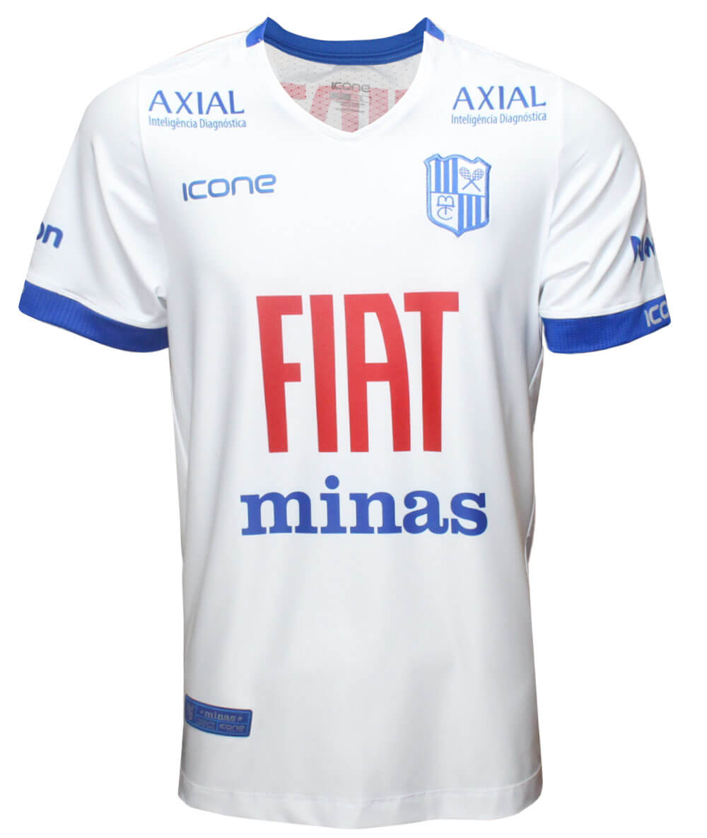 Camisa de Vôlei Minas 2020/21 Branca - S/N° - Masculina