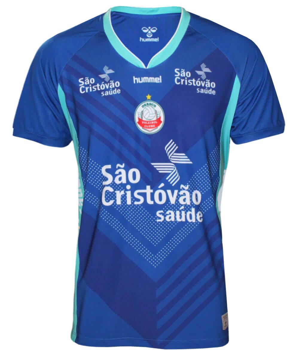 Camisa de Vôlei Osasco 2020/21 Azul - Masculina