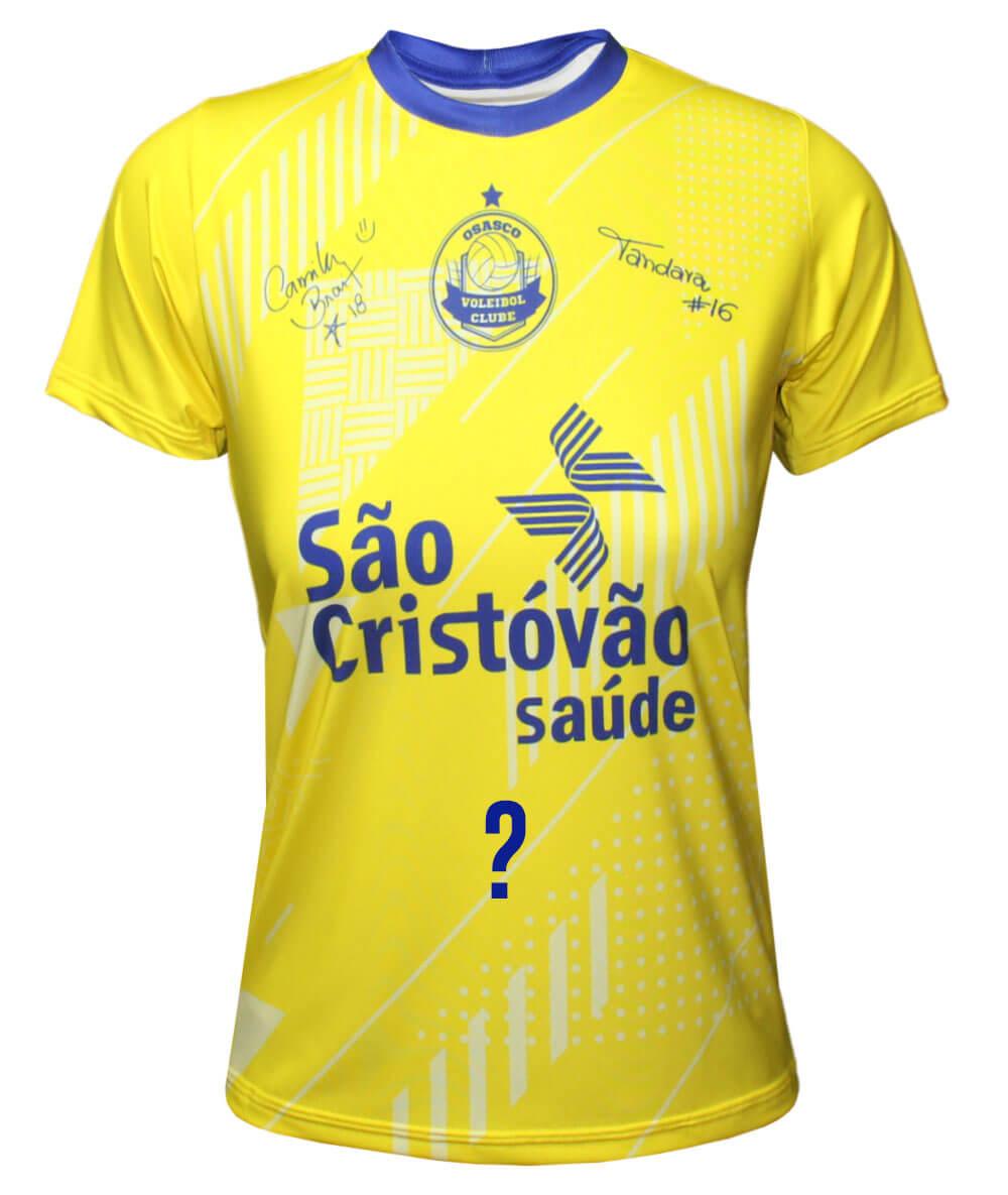 Camisa de Vôlei Osasco Brasil - Personalizada - Feminina