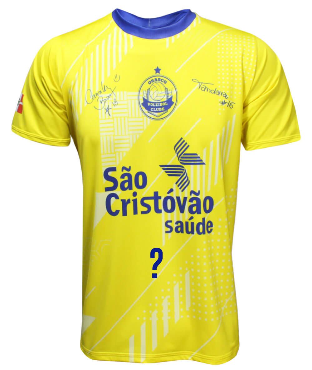 Camisa de Vôlei Osasco Brasil - Personalizada - Masculina