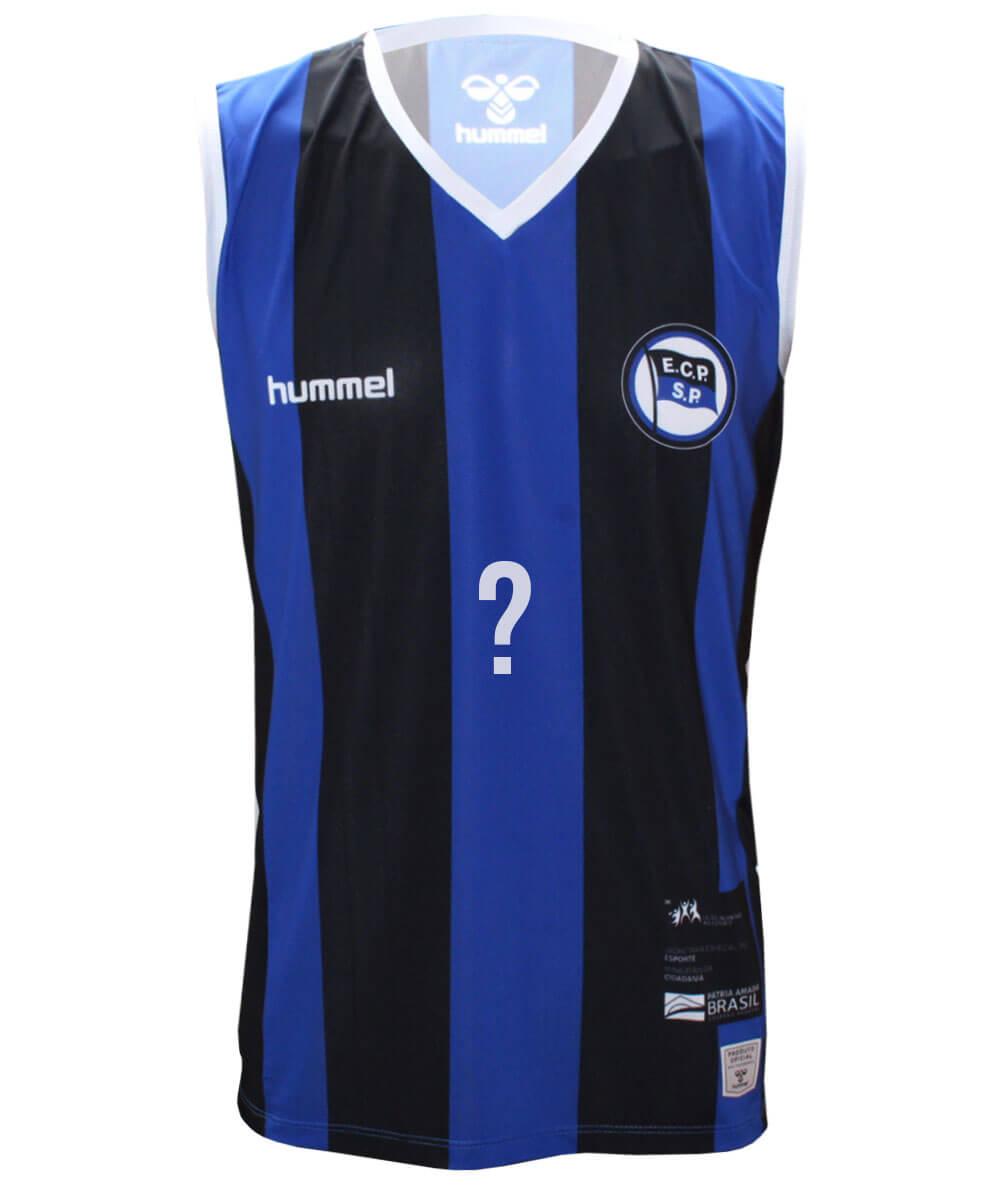 Camisa de Vôlei Pinheiros 2020/21 Azul - Personalizada - Masculina