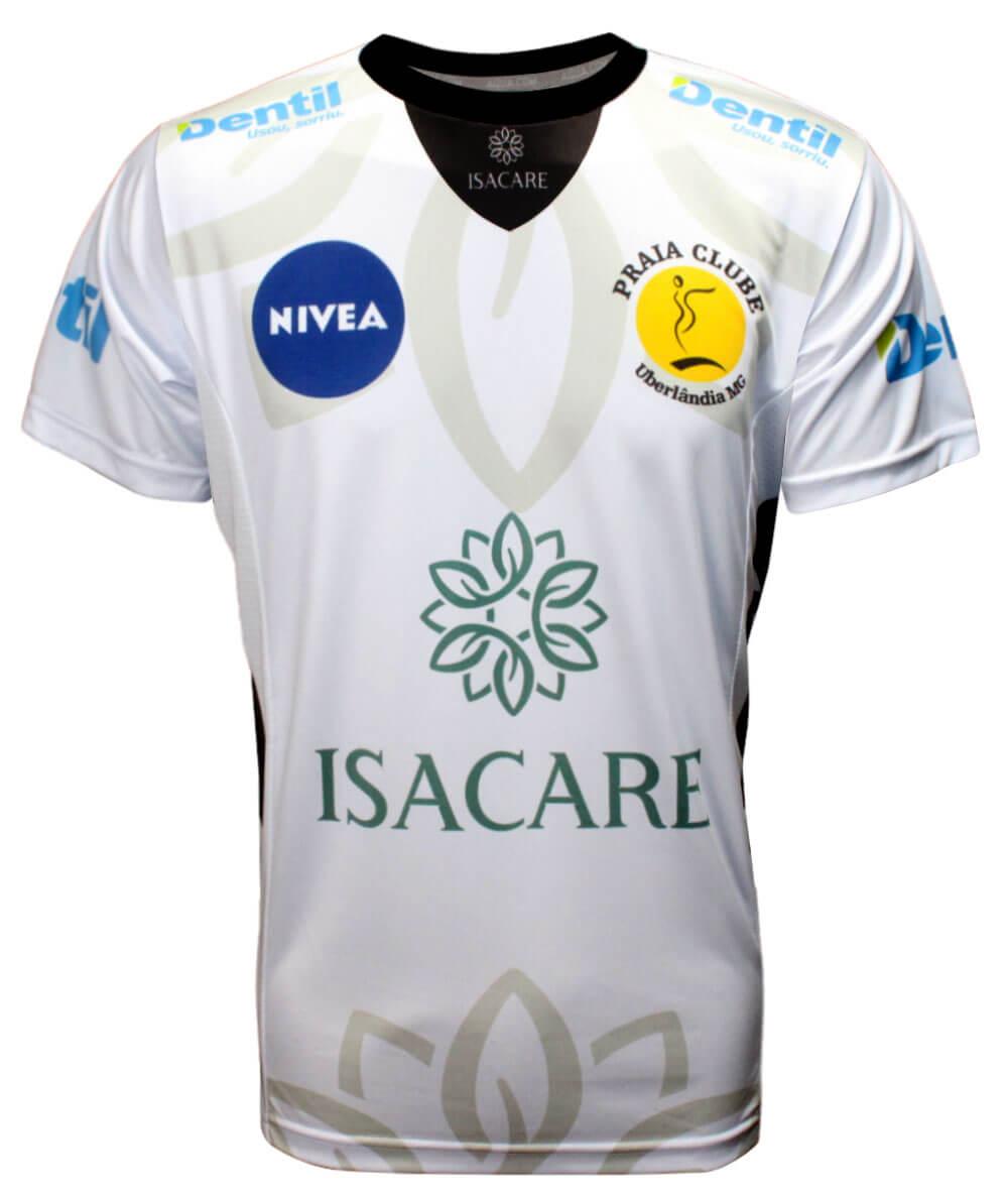 Camisa de Vôlei Praia Clube 2020/21 Branca - S/N° - Masculina