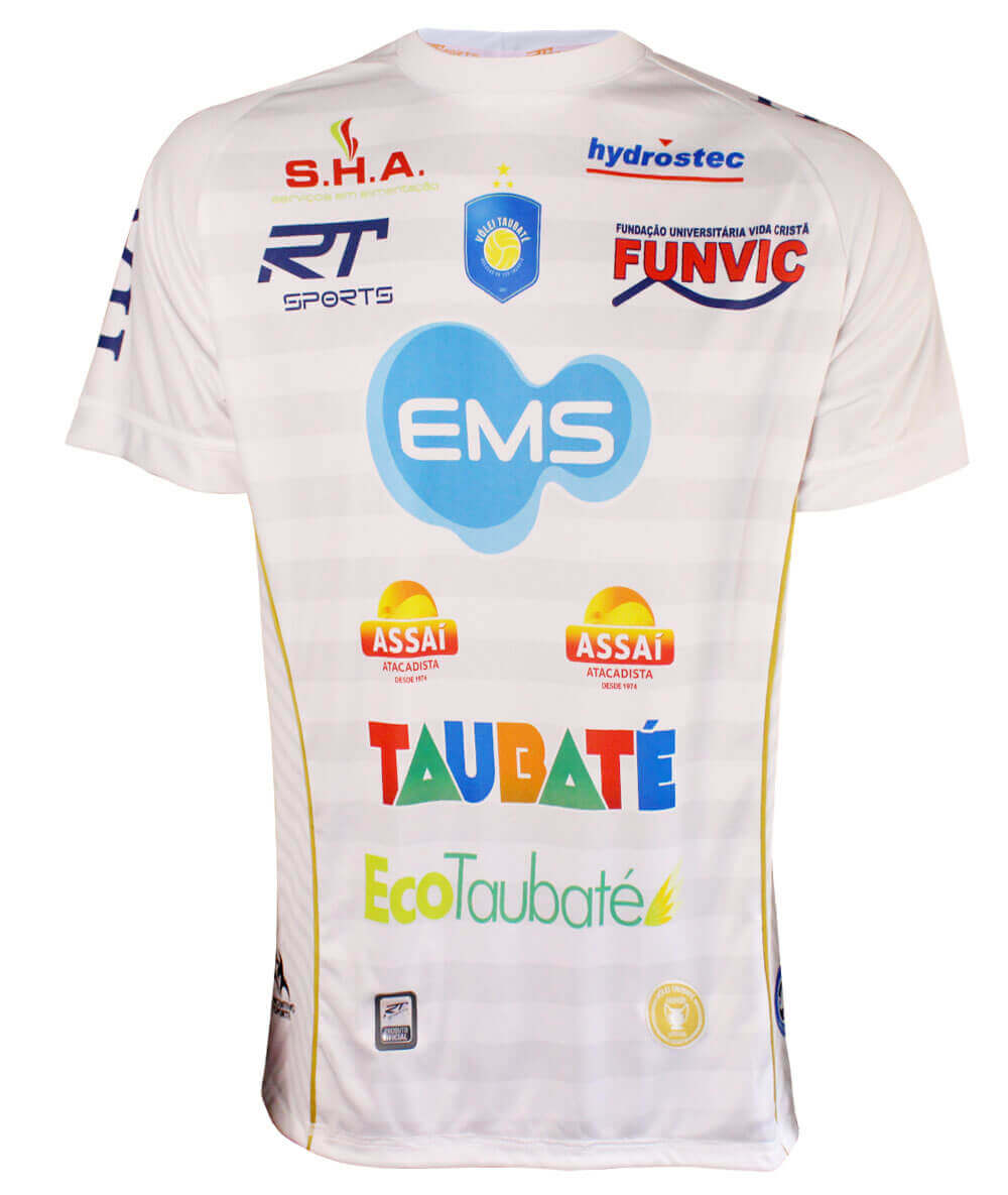 Camisa de Vôlei Taubaté 2019/20 Branca - S/Nº - Masculina
