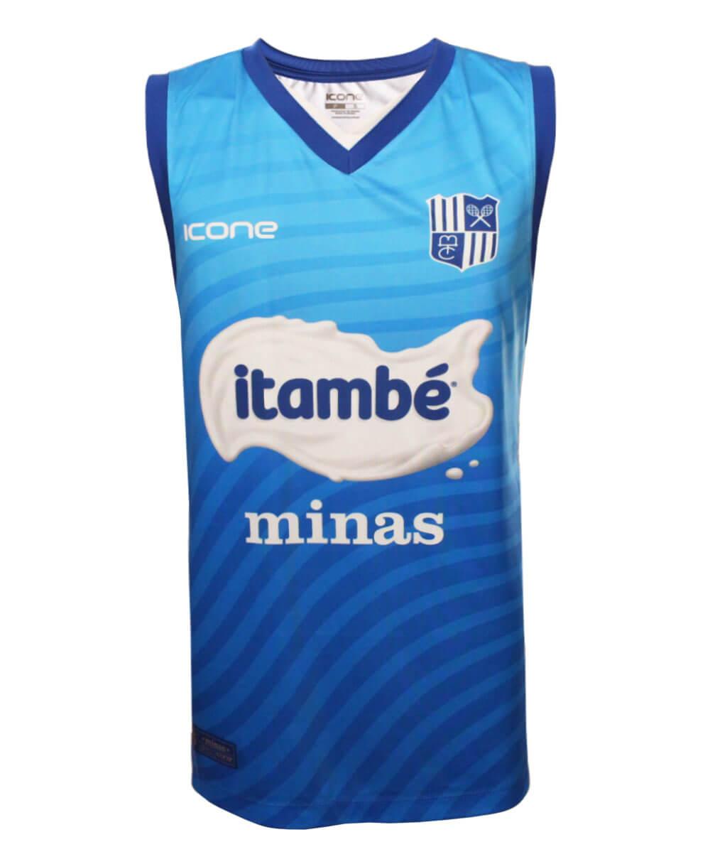 Camisa de Vôlei Treino Itambé/Minas 2020/21 Azul - Masculina
