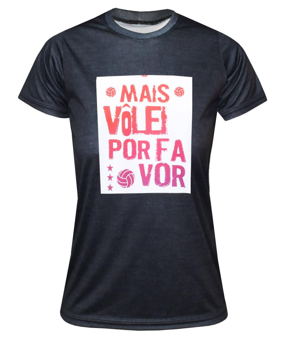 Camisa Mais Vôlei, Por Favor 2021/22 Mescla - Feminina