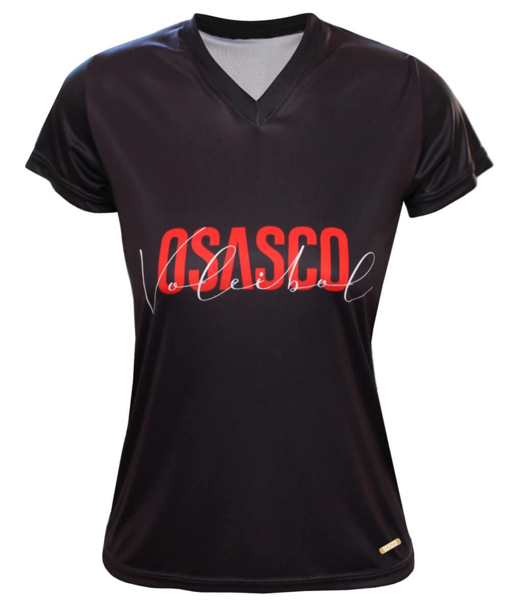 Camisa Osasco Voleibol Preta - Feminina