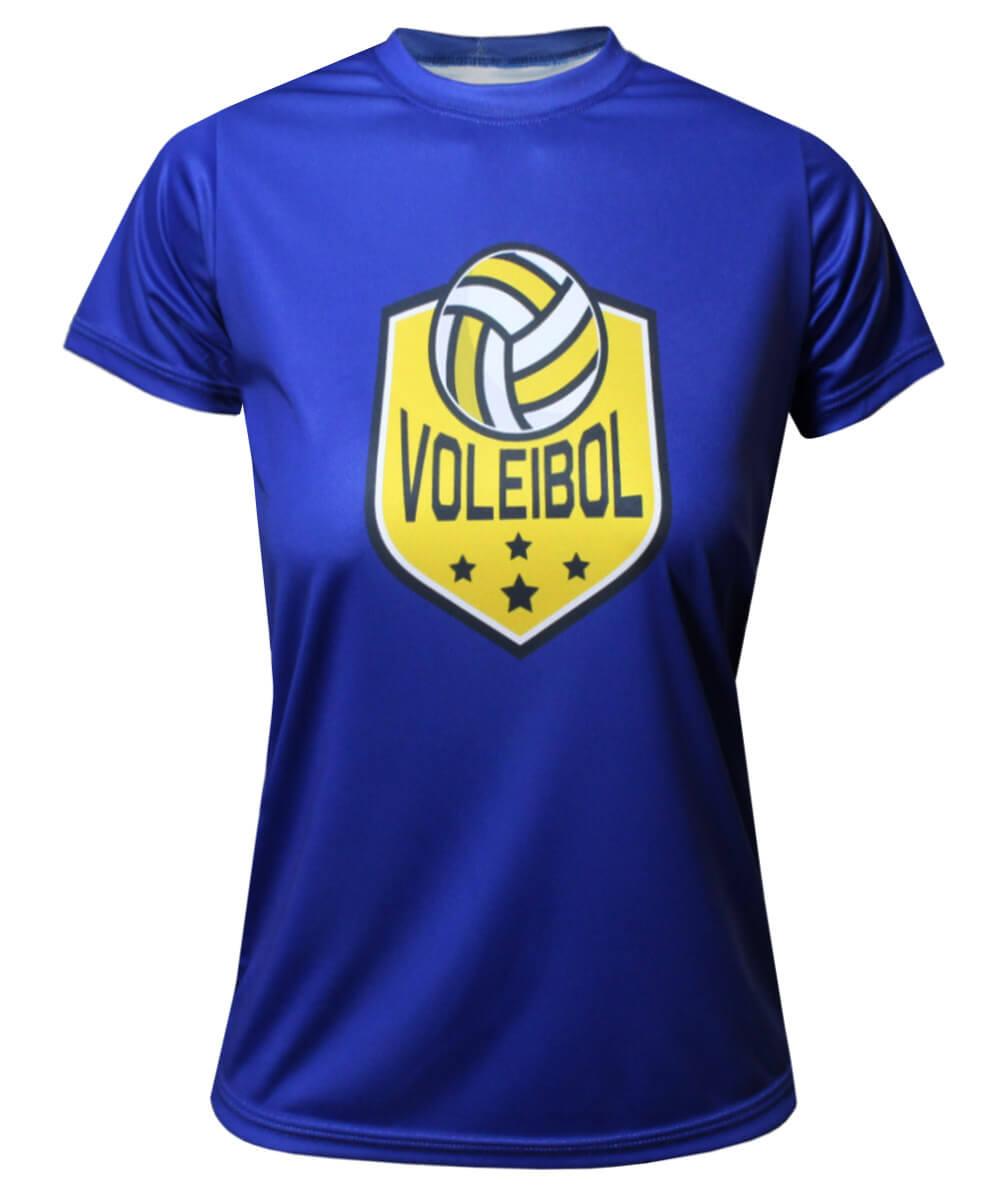 Camisa Voleibol 2021/22 Azul - Feminina