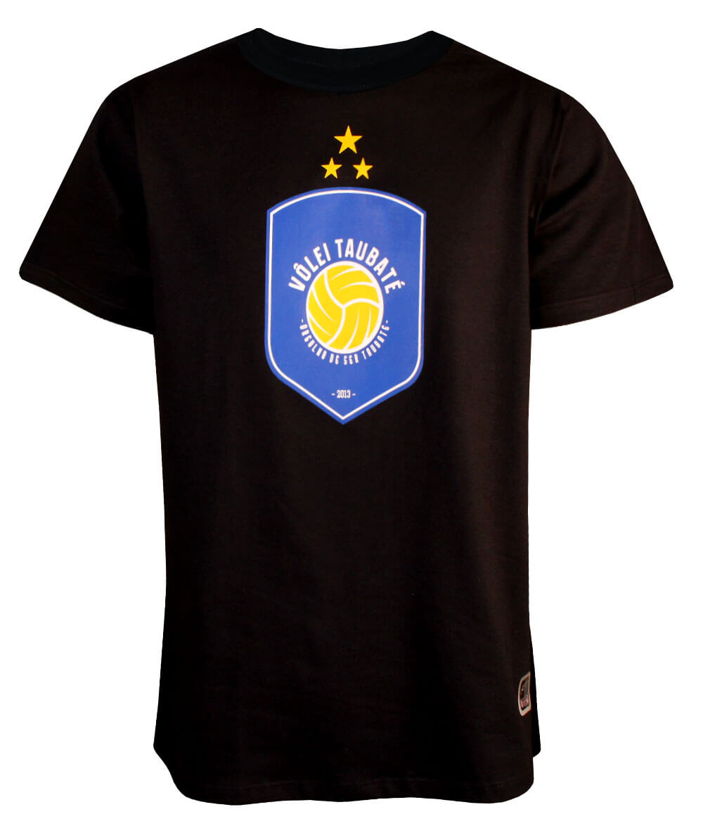 Camiseta Vôlei Taubaté 2020/21 Preta - Masculina