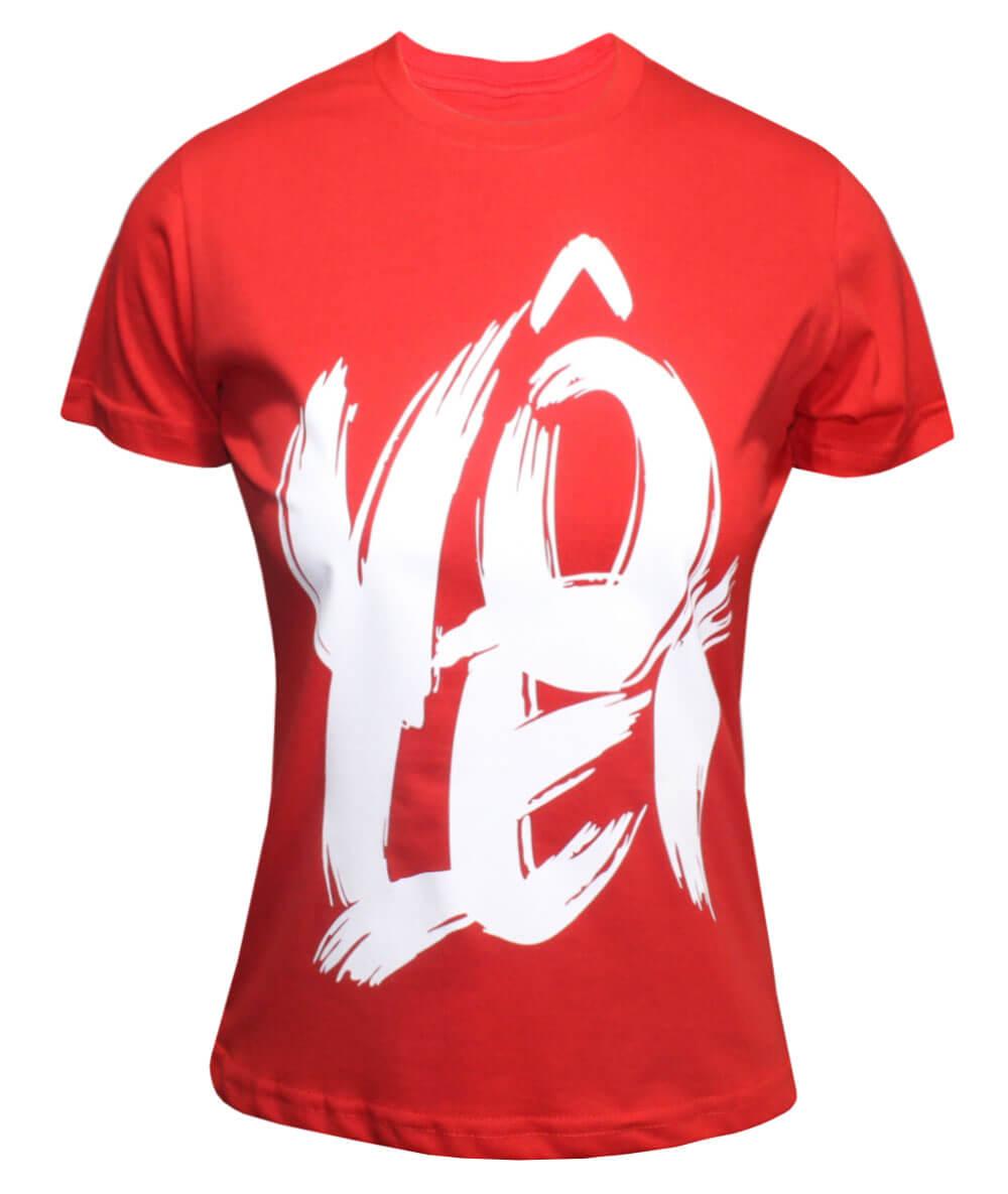 Camiseta Vôlei Vermelha - Feminina