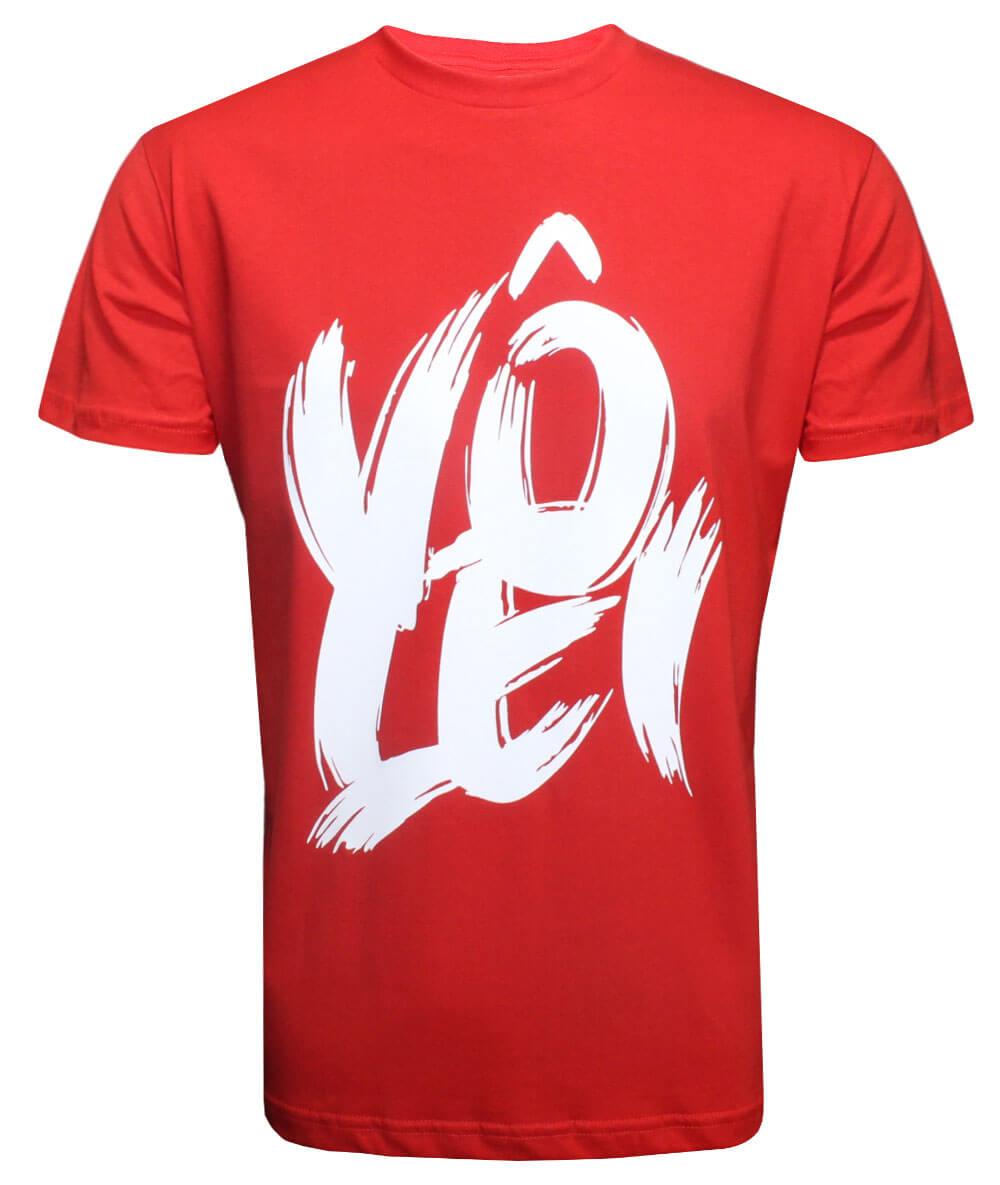 Camiseta Vôlei Vermelha - Masculina