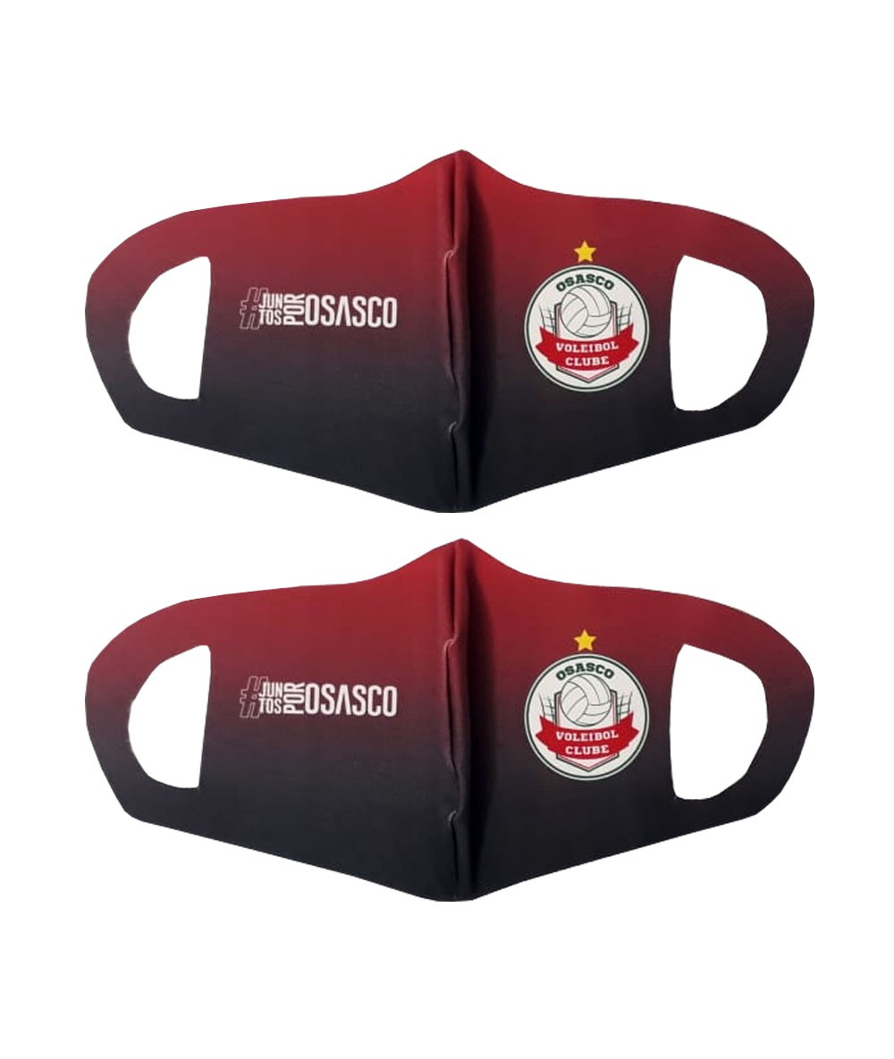 Kit 2 máscaras de proteção Osasco Voleibol Clube