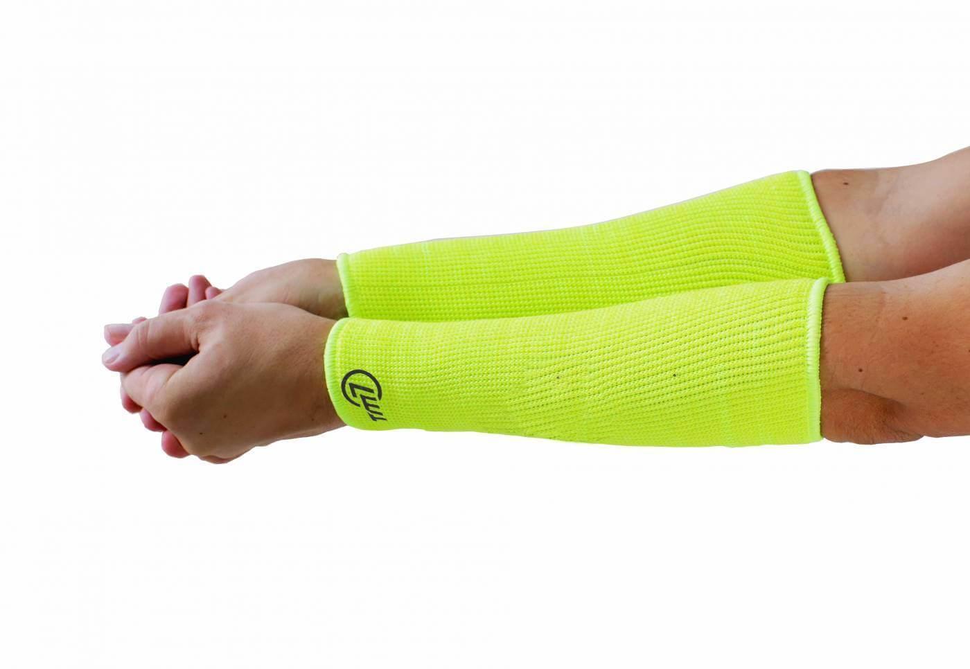 Manguito para Vôlei Brac Curto TM7 Sports - Amarelo (Marca no punho)