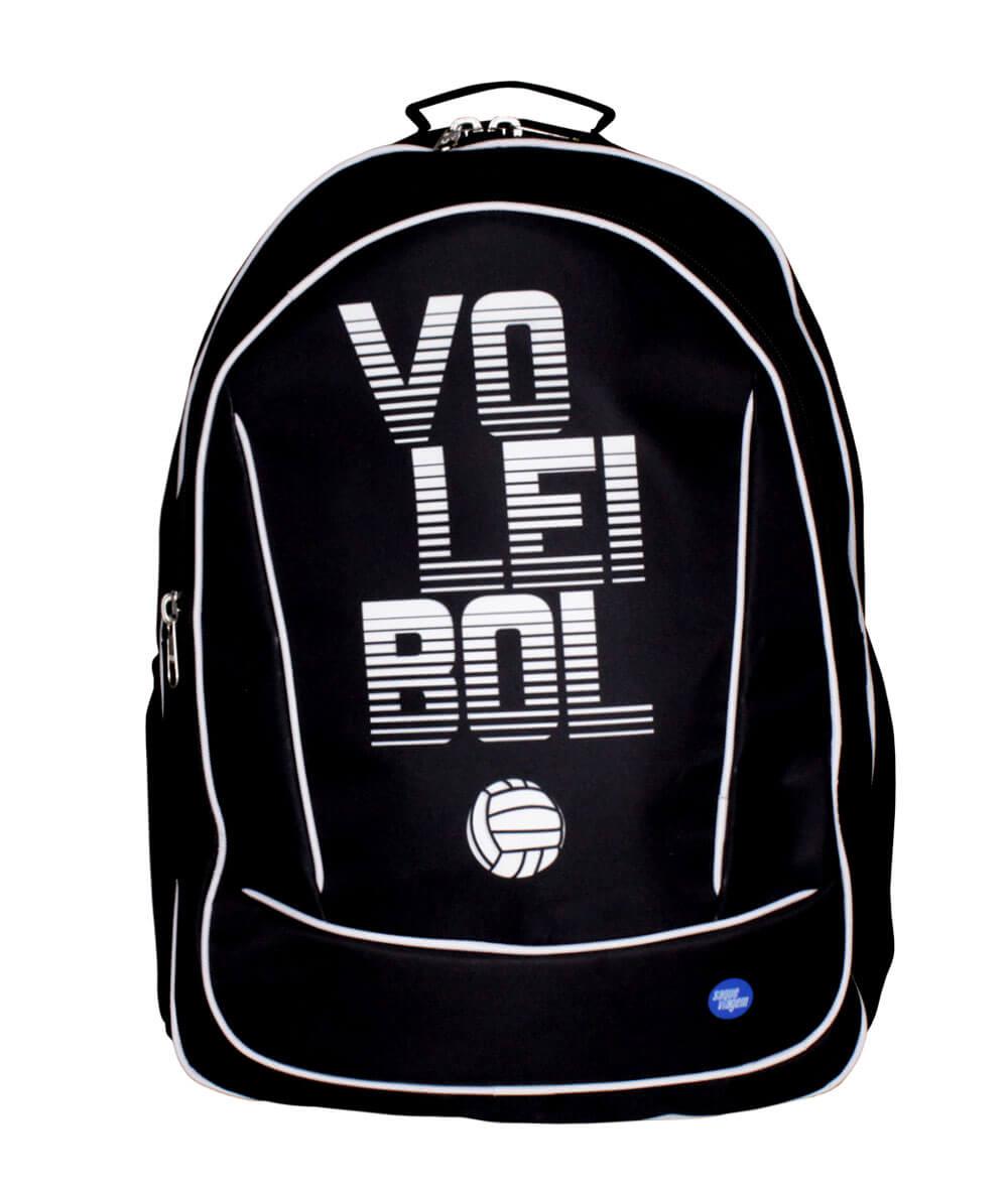 Mochila Voleibol Saque Viagem Preto 2020/21