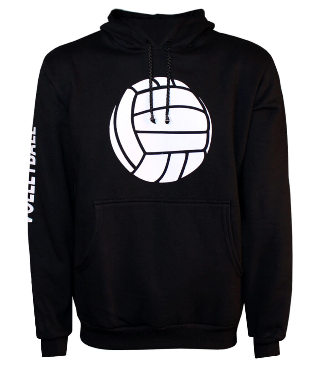 Moletom Volleyball 2019/20 Preto - Unissex