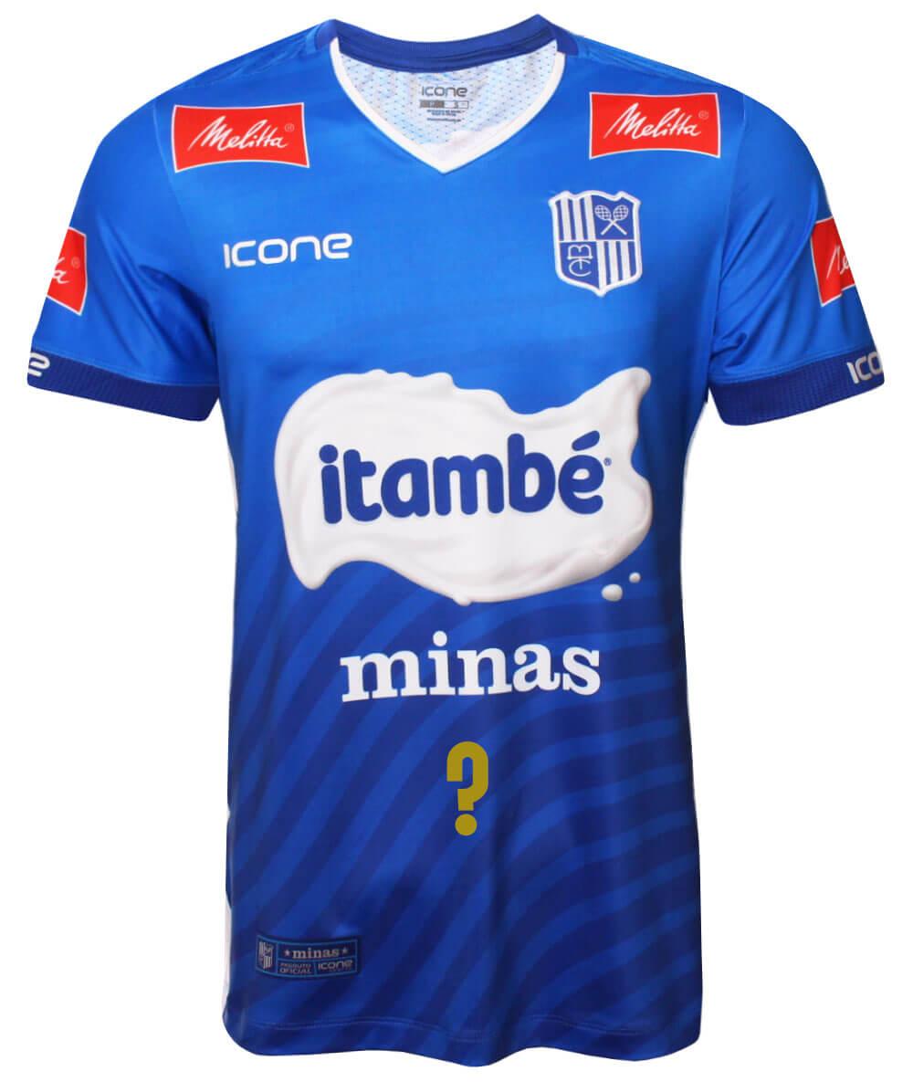 Camisa de Vôlei Itambé/Minas 2020/21 Azul - Personalizada - Masculina