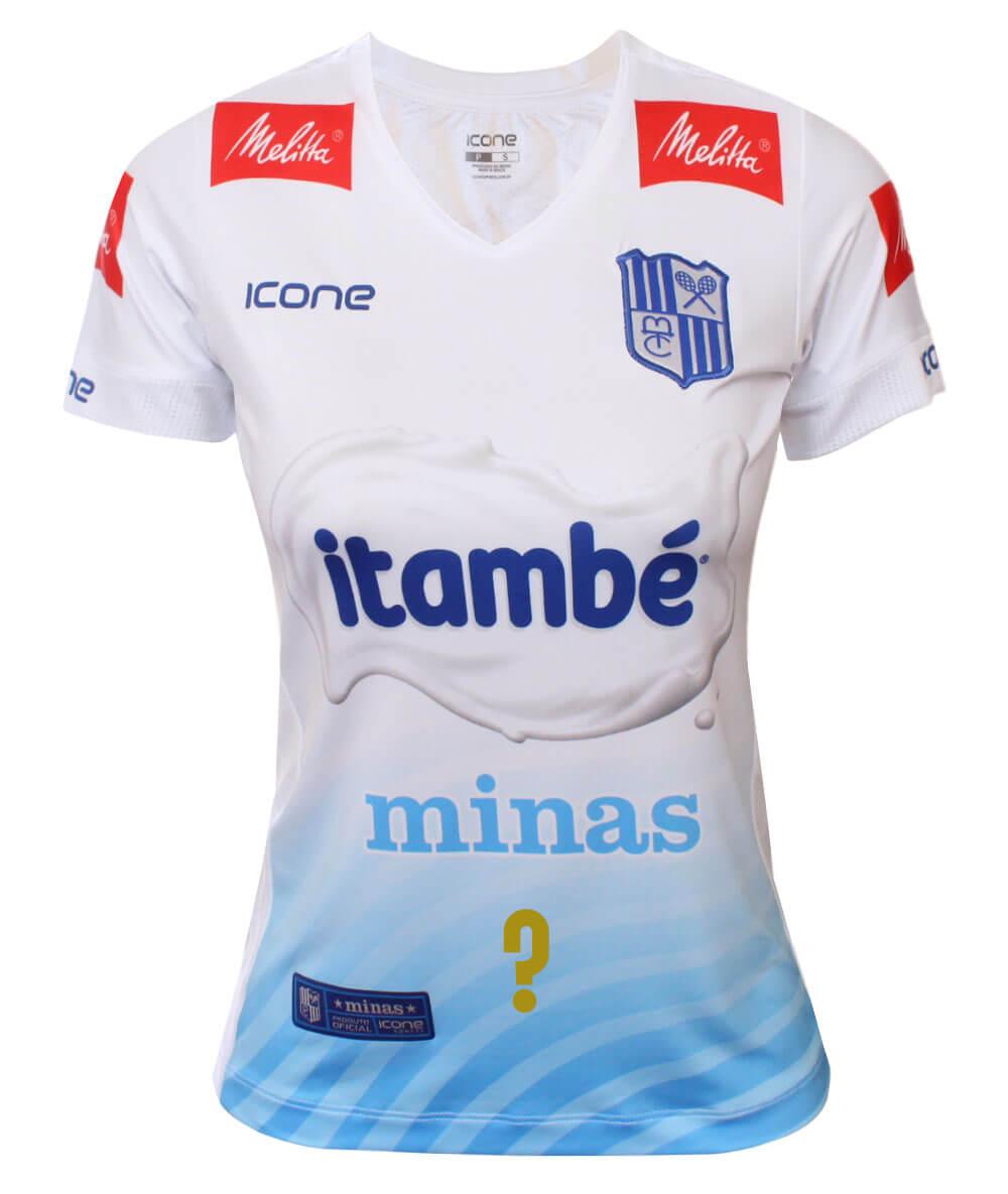 Camisa de Vôlei Itambé/Minas 2020/21 Branca - Personalizada - Feminina