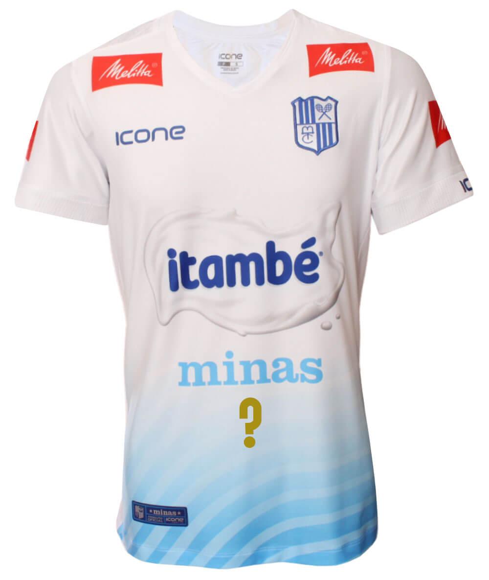Camisa de Vôlei Itambé/Minas 2020/21 Branca - Personalizada - Masculina